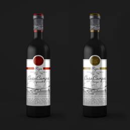 Packaging Vinos CasaCampos