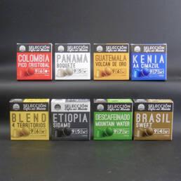Imagen principal Proyecto Packaging Cafés del mundo